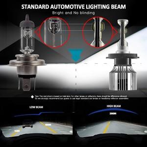 Image 3 - CNSUNNYLIGHT 24V משאית LED פנס נורות H4 Hi/Lo H7 H11 H1 סופר בהיר 8500LM 880 H3 9005 9006 להחליף משאית Camion אורות