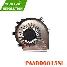 Mới CPU Quạt Làm Mát Cho MSI GE72 GE62 PE60 PE70 GL62 GL72 PAAD06015SL 3pin 0.55A 5VDC N303