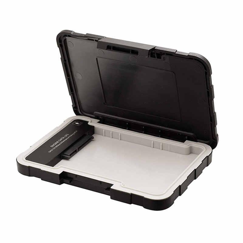 Adata قالب أقراص صلبة 2.5 usb 3.0 Sata usb حالة ED600 قرص صلب خارجي مربع IP54 SSD HD محرك الأسود USB3.1 قاعدة لتثبيت الكمبيوتر المحمول دروبشيب