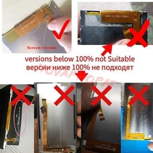 Image 5 - Novaphopat черный/золотой ЖК дисплей для Vertex Impress Luck ЖК экран + сенсорный экран дигитайзер Замена + отслеживание
