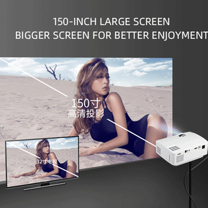 Image 5 - CRENOVA Video Projector With Android 6.0 OS For Smart phone Home Cinema Movie Video Projector Bluetooth WIFI Beamer
