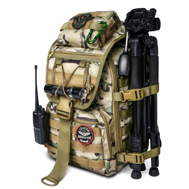 Tactical Backpack 40L Military Bag Hunting Backpack Lightweight Mens Tactical Bag Fishing Bag Army For Men Hiking Tactical Pouch 5