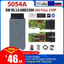 5054a ODIS V 5.1.6 Freies keygen 5054a 5.1.3 OKI volle Chip OBD ii scanner auto code reader 5054 Bluetooth obd2 diagnose tool