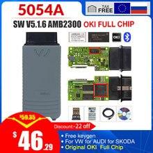 5054a ODIS V5.1.6 Trasporto keygen 5054a 5.1.3 OKI pieno di Chip OBD ii scanner lettore di codice auto 5054 Bluetooth obd2 diagnostica strumento
