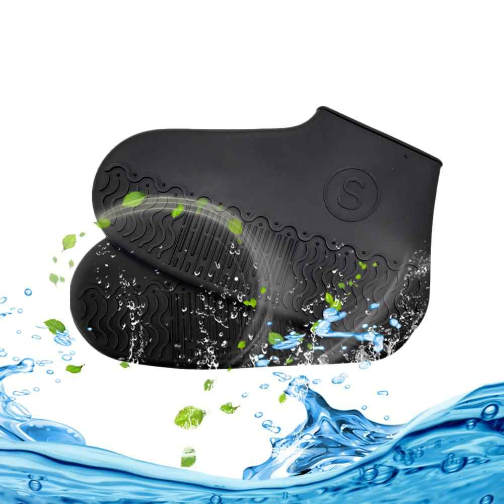 Waterproof Shoe Cover Reusable Rain-proof Silicone Shoes Cover For Adults Kids