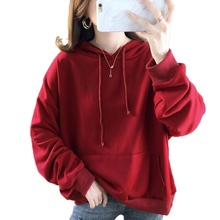 Hoodies Women Sweatshirt Autumn 2019 Harajuku Pullover Loose Long Sleeve Fashion Sports