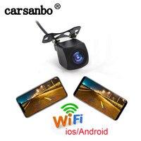 720P HD wifi back up kamera auto vorne und hinten montieren verfügbar unterstützung android und ios system mobile einfach montage F auto APP-in Fahrzeugkamera aus Kraftfahrzeuge und Motorräder bei