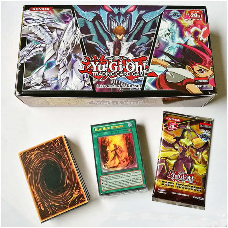 Yu-Gi-Oh 100pcs Holographic Card Giocattolo Hobby Collection Game Collection Anime Di Carta