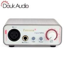 Douk Audio HiFi Mini Microphone Preamplifier Music Sound Card Recording MIC Amplifier