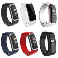 M4 USB ישיר טעינה חכם שעון צמיד צמיד Waterproof קצב לב צג לחץ דם מד צעדים כושר Tracker עבור