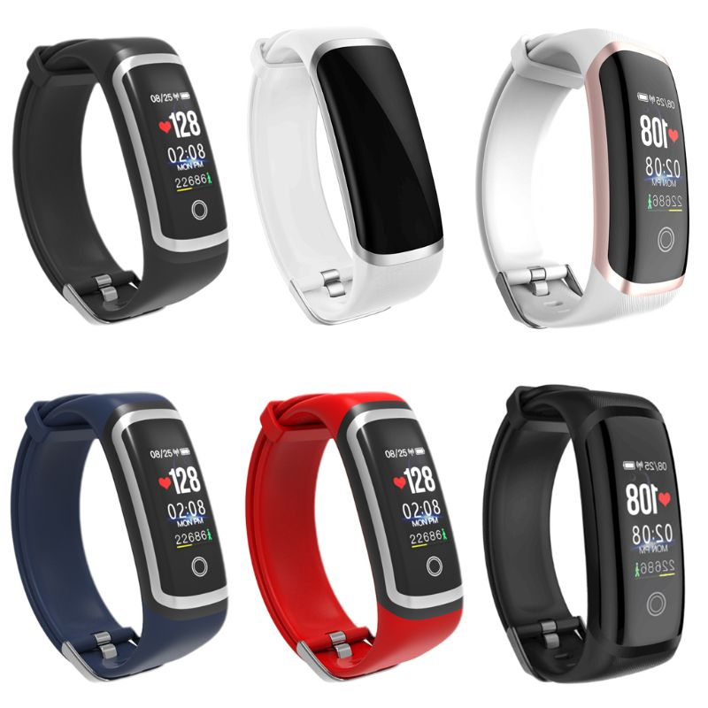 M4 USB Direct Charging Smart Watch Wristband Bracelet Waterproof Heart Rate Blood Pressure Monitor Pedometer Fitness Tracker for  - buy with discount
