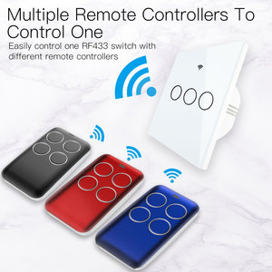 Image 4 - Wireless RF Receiver Learning Code Decoder 433MHz Remote Control Key 4 Channel Controller DIY Key for Switch Encoding 1527