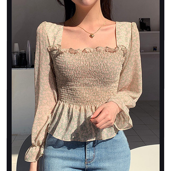 Chiffon blouse women 2020 chemisier femme blusas camisas de mujer ladies tops long sleeve sexy clothing women shirts blouses womens tops and blouses 2019 chiffon blouse shirts women clothing button v neck long sleeve blusas femininas shirts print 0124