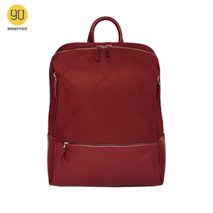 Image 1 - NINETYGO 90FUN moda elmas kafes sırt çantası 14 inç laptop çantaları kadınlar kızlar bayanlar için okul koleji için seyahat gezisi