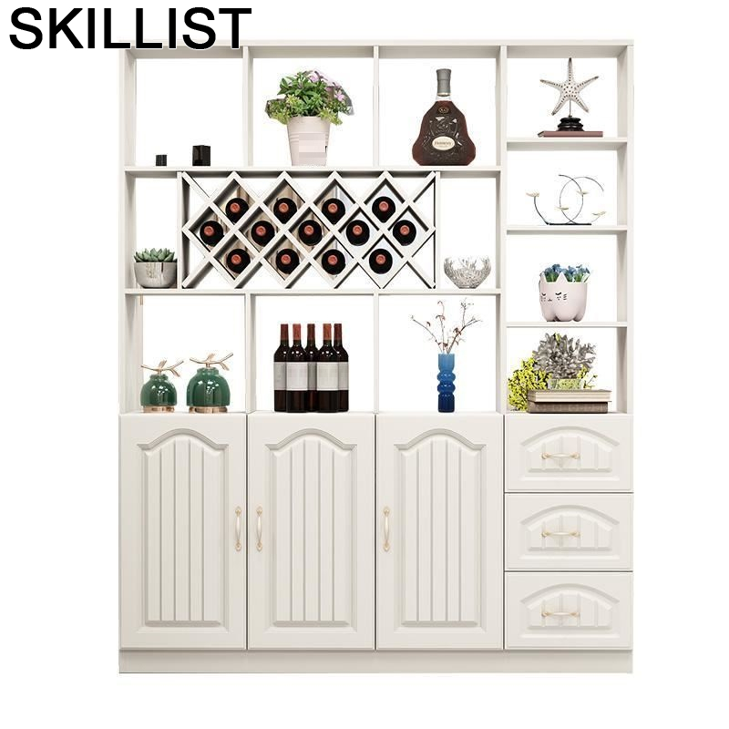 Rack Shelves Mueble Table Meja Sala Adega Vinho Mobili Per La Casa Cristaleira Kast Bar Shelf Commercial Furniture Wine Cabinet