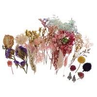 Mini Kit de flores secas naturales reales, de grado alimenticio, rosa, hoja de lavanda, bricolaje, velas artesanales, fabricación de jabón, decoración del hogar
