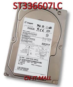 "Seagate Cheetah ST336607LC 36GB 10000 RPM Ultra320 80Pin SCSI 3.5"" Internal Hard Drive"