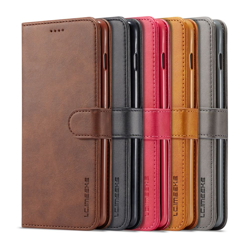 Luxury Flip Wallet Phone Case For iPhone Xr X Xs 11 Pro Max 7 Plus 8 6S 6 5 5S SE Shockproof Leather Bumper Magnetic Slim Cover image
