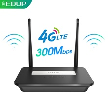 EDUP Smart 4G Router WIFI Router Home hotspot 4G RJ45 WAN LAN WIFI modem Router CPE 4G WIFI router with SIM card slot
