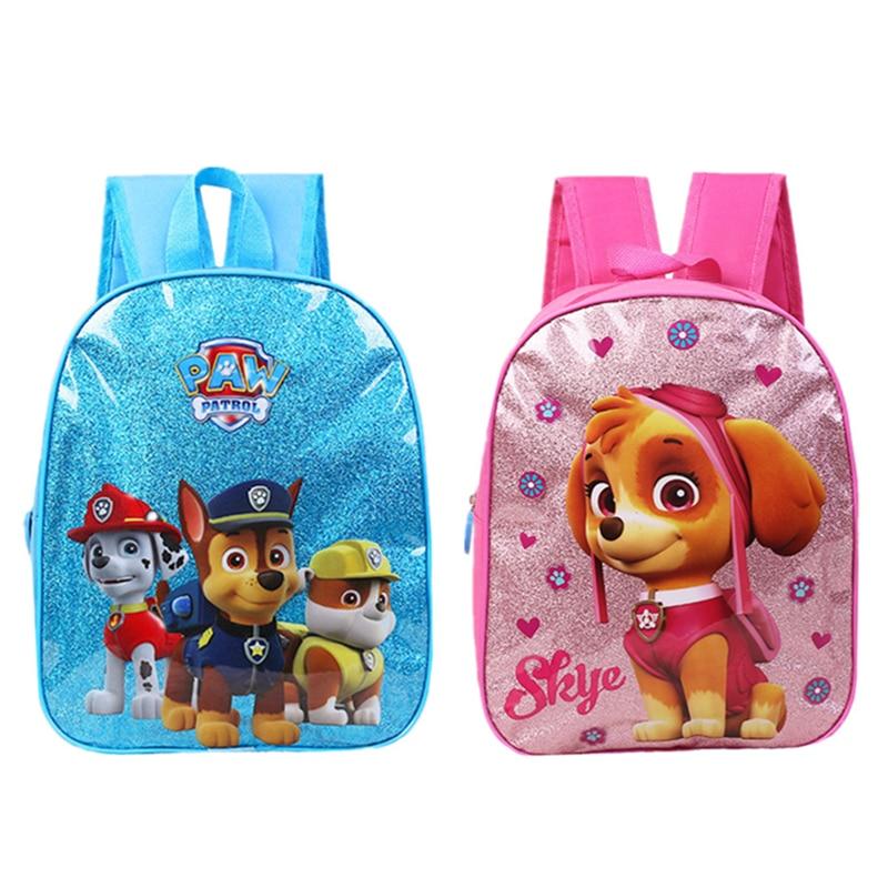 Paw Patrol Children's Cartoon School Bag Kindergarten Baby Cute Backpack For Boy Girl Child Birthday Xmas Gift