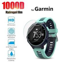 3 sztuk ochronne hydrożel Film dla Garmin Forerunner 735XT 735 225 235 245 630 645 745 945 935 (nie szkło) Screen Protector folia tanie tanio CN (pochodzenie) smart watch Hydrogel film