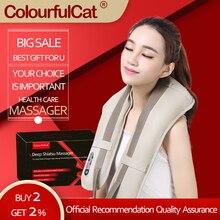 Appareil de Massage électrique Portable pour le cou, châles de Massage des cervicales, douleur, cou et épaules, multi fonctions, offre spéciale