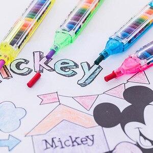 20 цветов/шт милые кавайные карандаши масляные пастельные креативные цветные граффити ручка для детей рисование принадлежности для рисован...