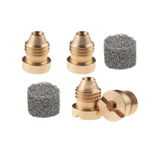 4pc Foam Vat Gat Nozzle Tips + 2pc Foam Maker Hogedrukreiniger Spray Cores Voor Sneeuw Foam lance(China)