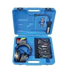 Портативный автомобильный комбинированный Электронный стетоскоп, комплект, автомобильный механический инструмент для диагностики шума и неисправности, шесть каналов