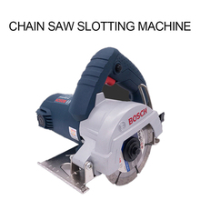 Tile stone cutting machine home multi-function power tools marble machine toothless chainsaw slotting machine Slot machine