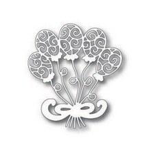 Naifumodo Party Balloon Metal Cutting Dies for Scrapbooking 93*104mm Card Making Album Embossing Crafts Diecut New 2018