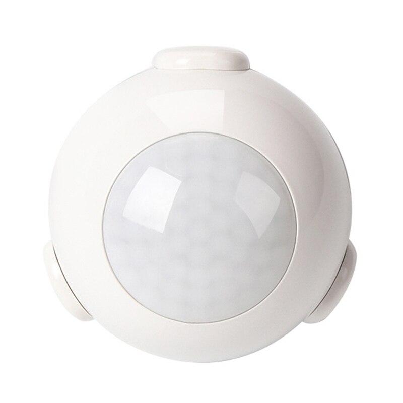 WIFI PIR Motion Sensor Smart Menschen Detektor für Home Security System, Optional Automatische Warnt, arbeit mit Alexa Echo Google Hause