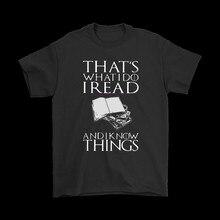 Isso é o que eu faço eu li e eu sei coisas camisas do amante do livro