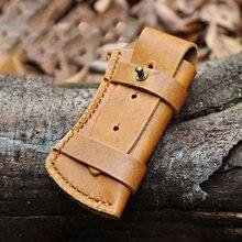Кожаный чехол для ножа складной нож ножны универсальные сумка