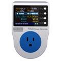 ZHURUI PR10-E US15A power meter plug / home power metering socket/ watt meter/2.4 inch TFT color LCD/0.5FS