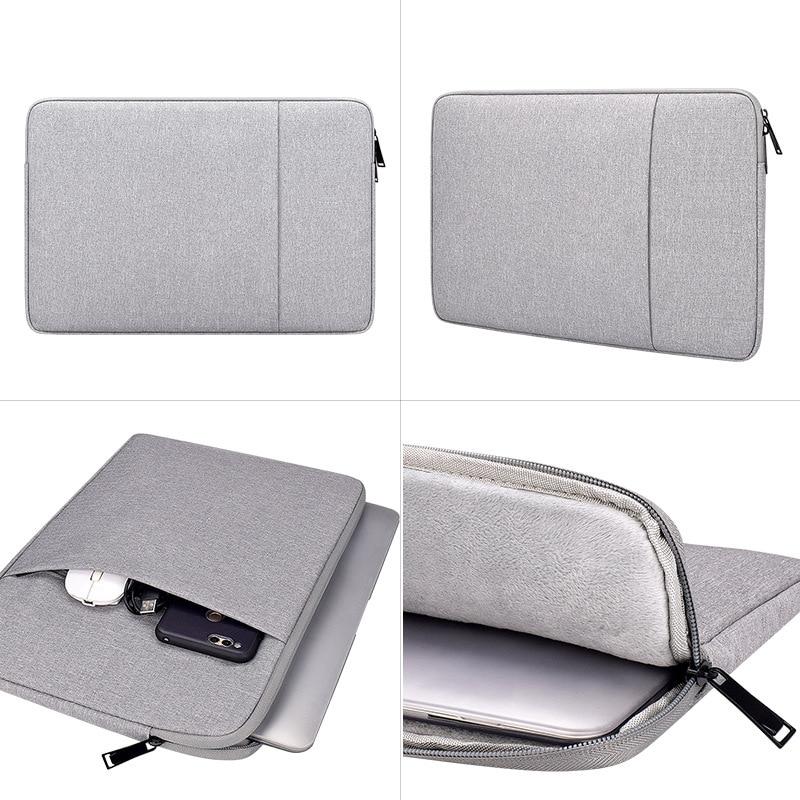 New Macbook Interior Bag 12 - 15.6 Inch Men Women Briefcase Handbag Multi-function Anti Water Splashing Notebook Computer Bags