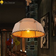 Modern Rope Vintage Industrial Decor Pendant Lights Retro LOFT Indoor Lighting Pendant Lamp Kitchen Hanging Lamps Light Fixtures(China)