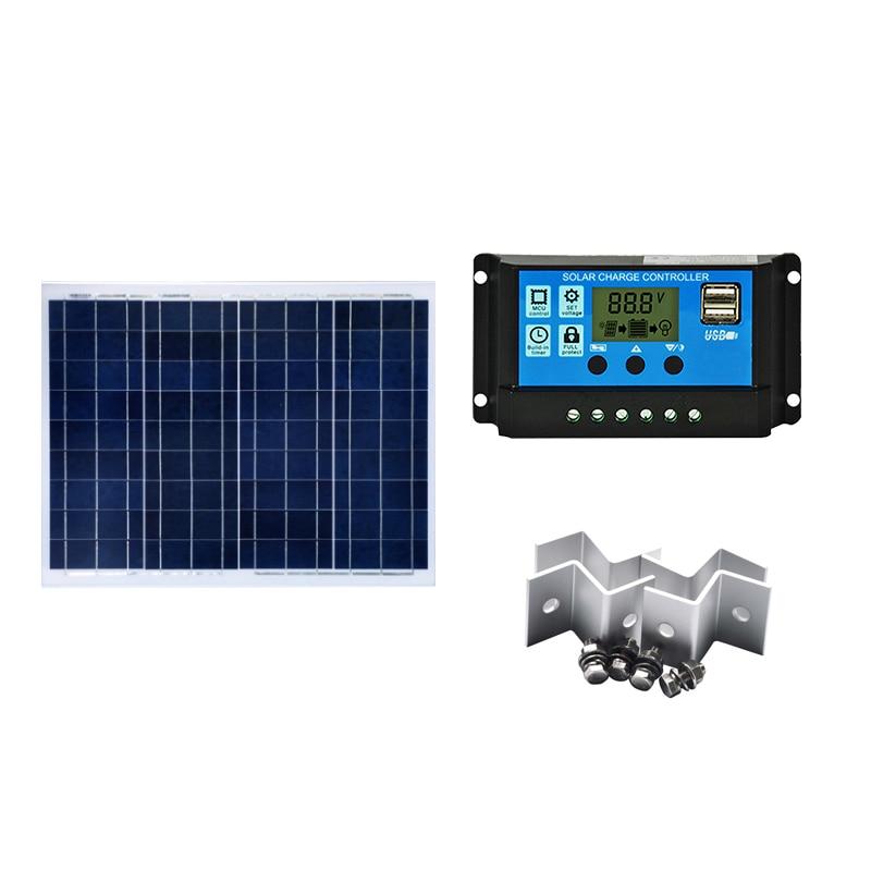 Набор солнечных батарей 50 Вт 100 150 Панель для фотовспышки