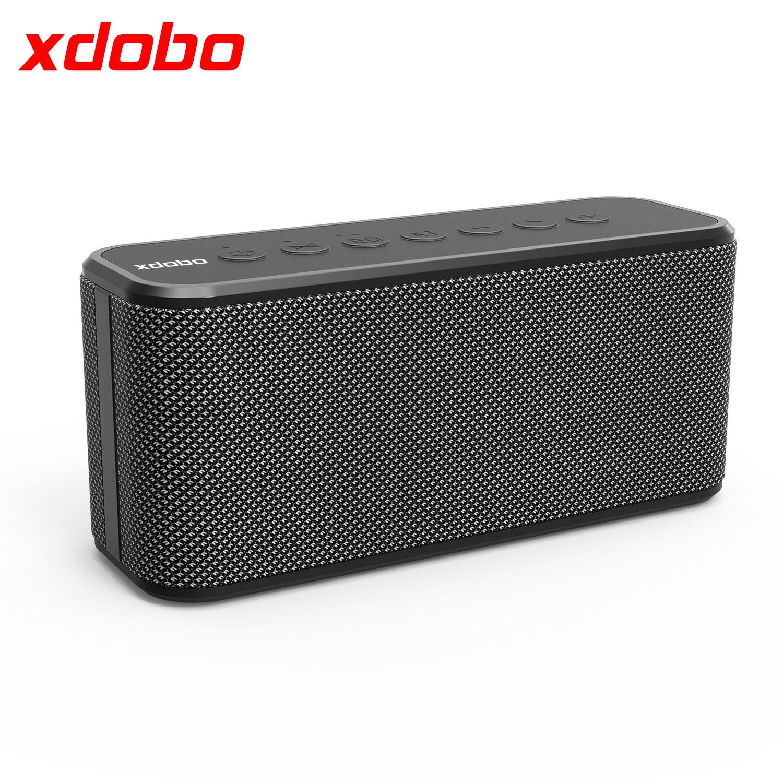Xdobo X8 плюс 80 Вт высокой мощности Динамик 3 рога Портативный Bluetooth 5,0 Беспроводной супер бас звуковые колонки TWS сабвуфер IPX5 бумбокс