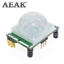 AEAK HC-SR501 Отрегулируйте инфракрасный ИК-пироэлектрический инфракрасный PIR модуль датчик движения модуль детектора мы являемся производителем