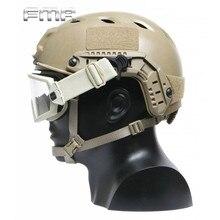 купить 1 Pair FMA Fast Helmet Accessory Military Equipment Airsoft Paintball Goggle Swivel Clips Big Size Outdoor SportsTool Mount Set дешево