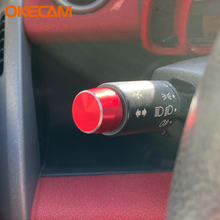 Aluminum alloy dial lamp switch cover for benz smart fortwo