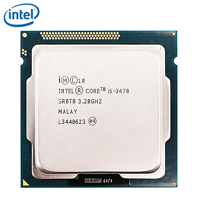 Intel Processor Computer Desktop-Cpu Cache Lga 1155 I5-3470 77W 6M PC Tested 100%Working title=
