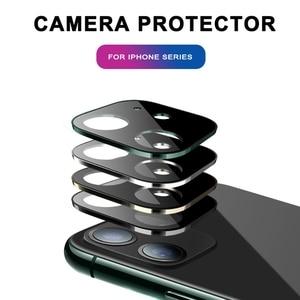 Image 5 - Gehärtetem Glas Auf Für iPhone 11 Pro X XS Max Glas Kamera Objektiv Screen Protector Für Apple iPhone11 Pro Max schutz Glas Film