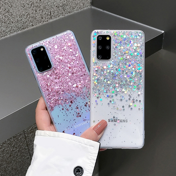 Case For Huawei P40 P30 P30 Pro Gradient glitter sequins Soft Phone Cover For Huawei Honor 10i 20i Nova 5T 6 7 SE Mate 30 20 Pro image