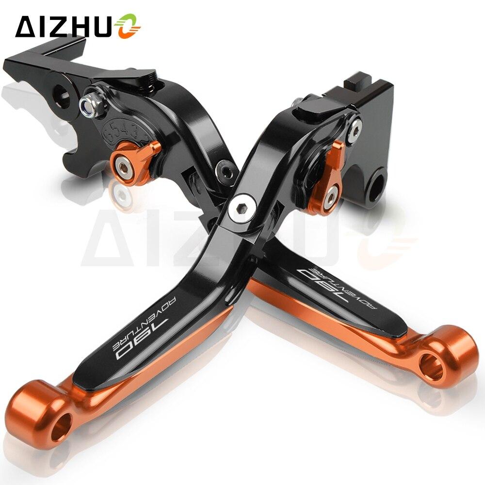 Motorcycle Accessories CNC Adjustable Folding Extendable 790 Adventure Brake Clutch Levers Set For KTM 790Adventure/R 2019-2020