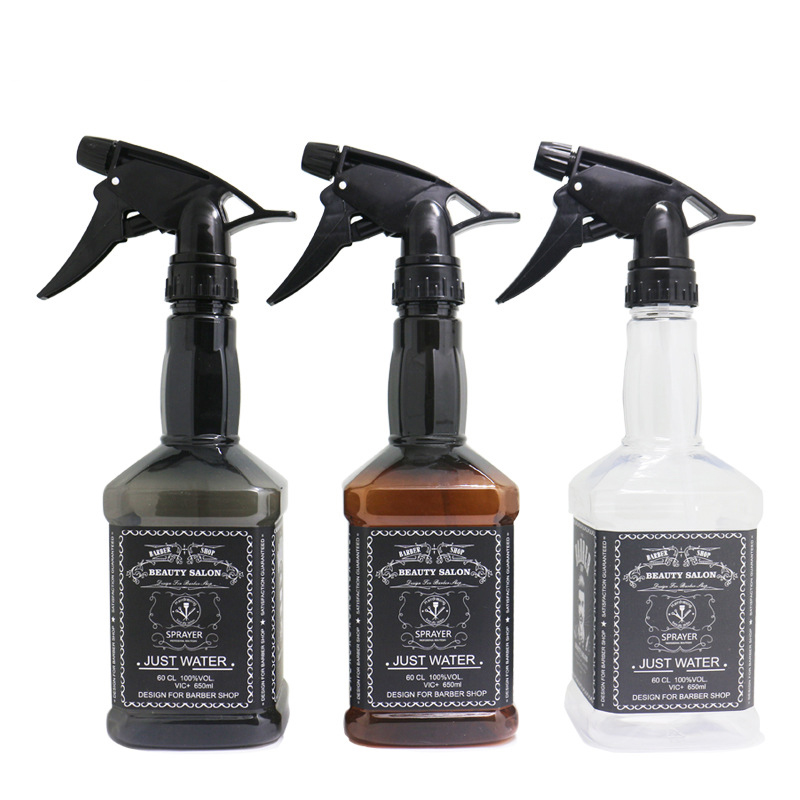 650ML Hairdressing Spray Bottle Salon Barber Hair Tools Hair Cutting Water Sprayer  Hair Salon Styling Accessories Barber Tools
