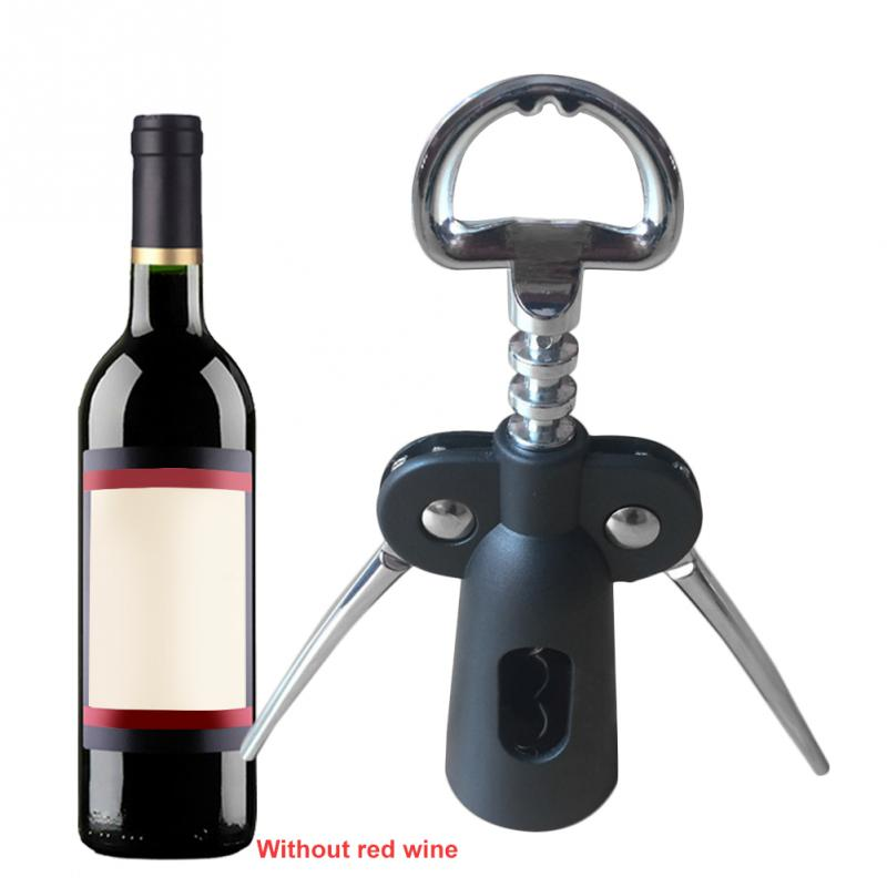 Pumps Wine Opener Plastic Bottle Openers Tools Cork Out Handle Waiter With Arms Zinc Alloy Corkscrew Tool  Wine Opener