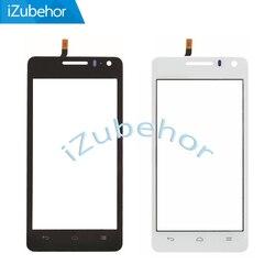 4.5 ''100% gwarancji ekran dotykowy dla Huawei U8950 Honor + Ascend G600 U9508 Honor 2 czujnik panelu dotykowego wyświetlacz szkło przednie w Panele dotykowe do telefonów komórkowych od Telefony komórkowe i telekomunikacja na