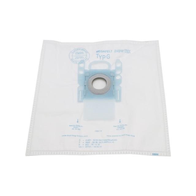 مكنسة كهربائية G 10 قطعة/السلع نوع G أكياس الغبار القماش Typ G لبوش سيمنز BSGL3126GB BSG6 BSG7 GL30 برو الحقائب
